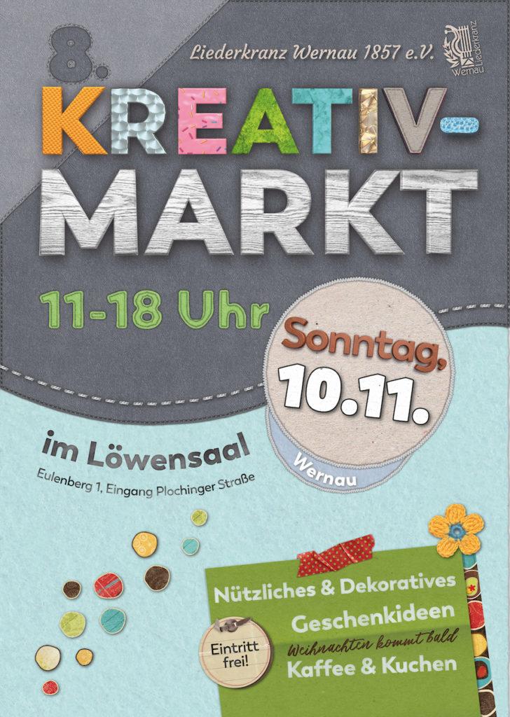 Kreativmarkt 2019 Plakat