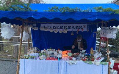Liederkranz Wernau mit Osterstand auf dem Wernauer Wochenmarkt