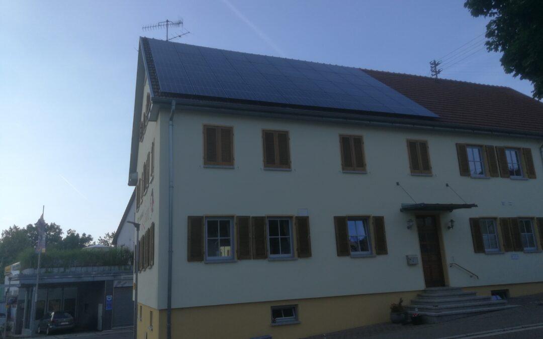 Der Liederkranz investiert in nachhaltige Energie